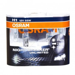 Osram Night Breaker Unlimited +110% światła